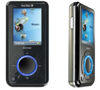 The Sansa MP3 Player