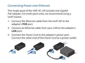 Ubiquiti guide to setting up POE