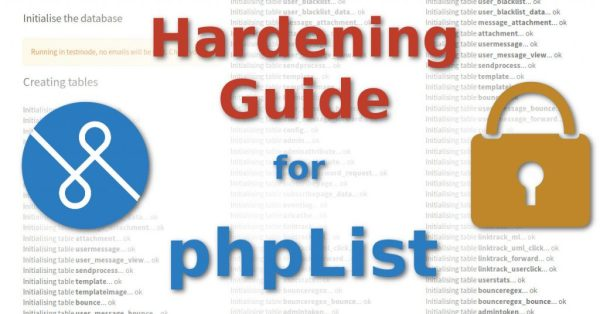 phpList Hardening Guide Featured Image